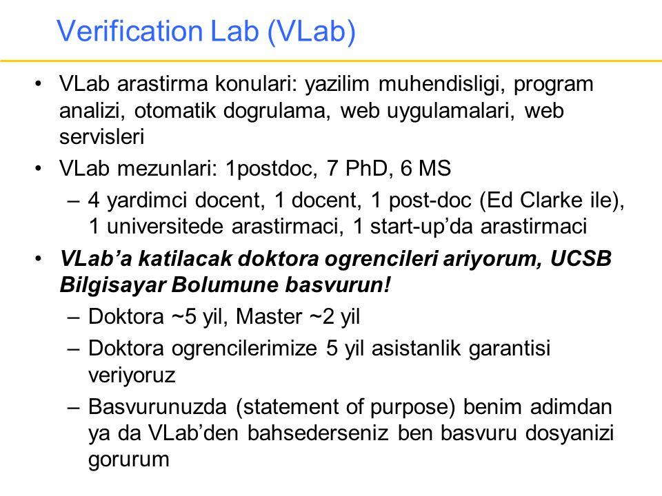 Verification Lab (VLab)