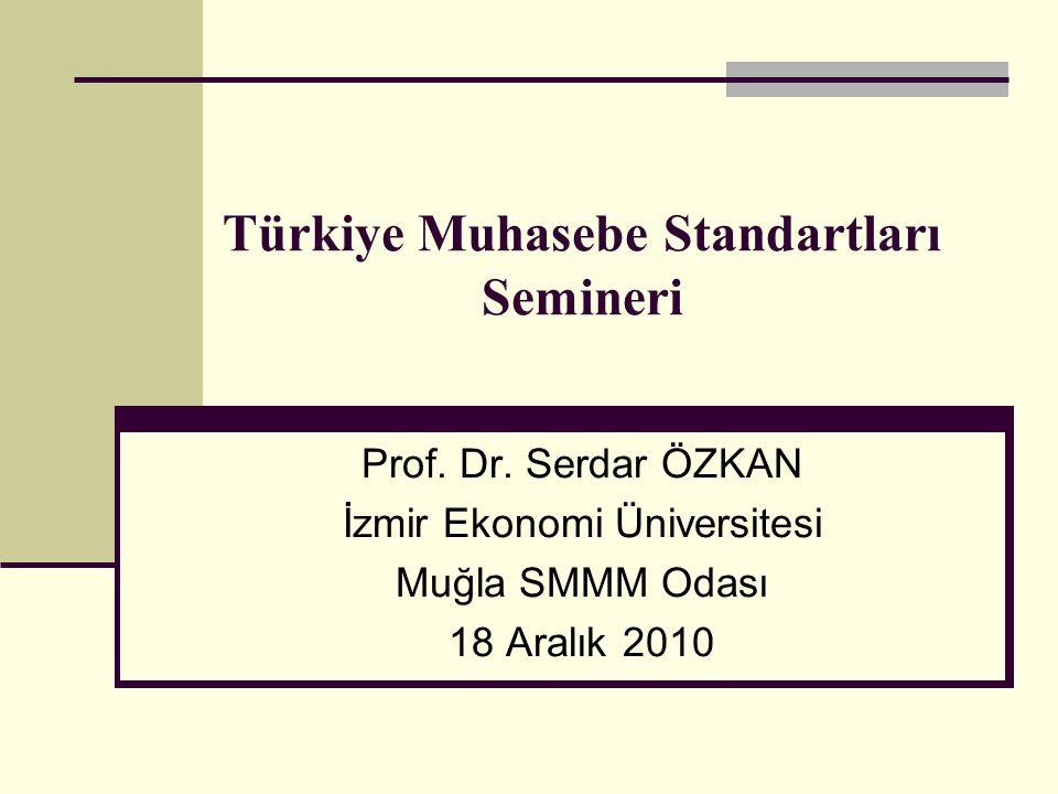 Türkiye Muhasebe Standartları Semineri