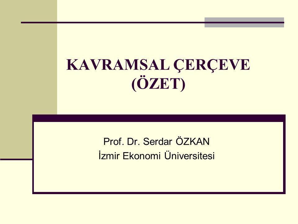 KAVRAMSAL ÇERÇEVE (ÖZET)