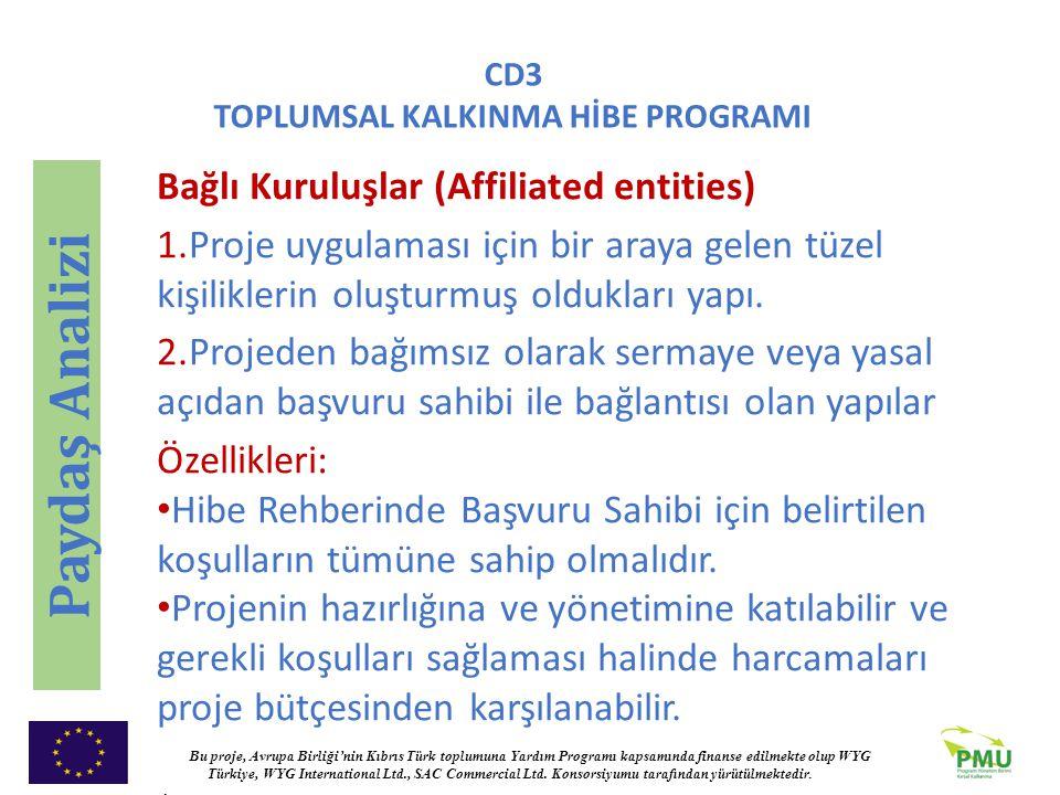 Paydaş Analizi Bağlı Kuruluşlar (Affiliated entities)