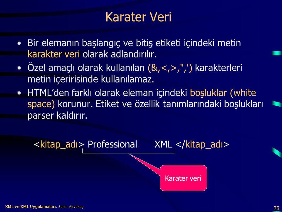 <kitap_adı> Professional XML </kitap_adı>