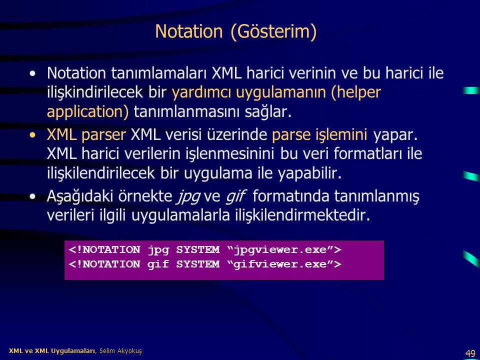 Notation (Gösterim)