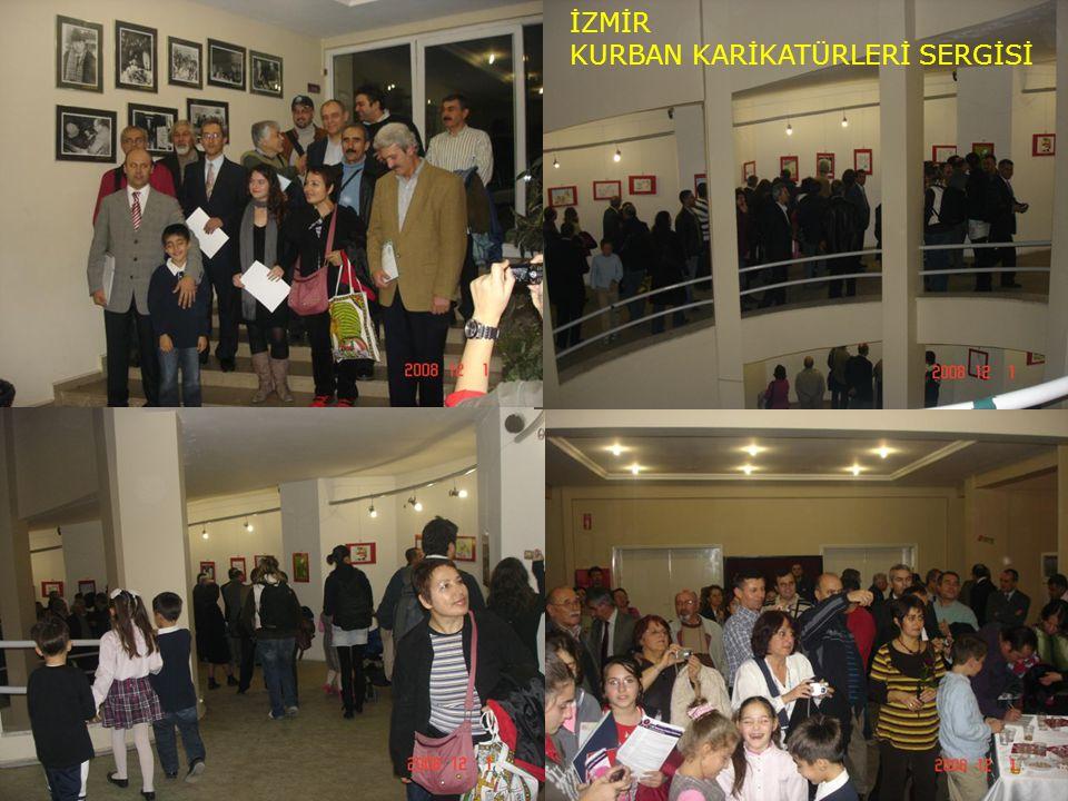 İZMİR KURBAN KARİKATÜRLERİ SERGİSİ Sergi Fotoğrafları
