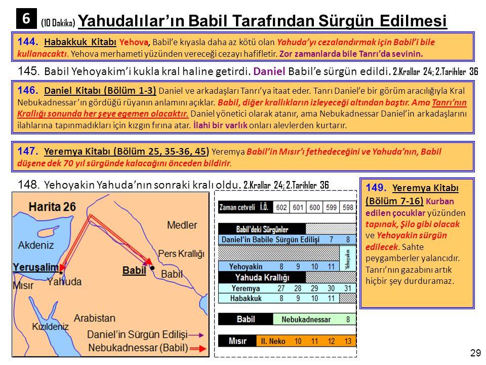 (10 Dakika) Yahudalılar'ın Babil Tarafından Sürgün Edilmesi