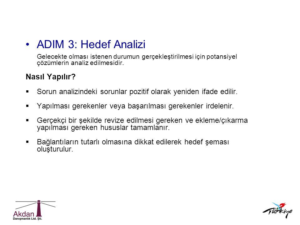 ADIM 3: Hedef Analizi Nasıl Yapılır