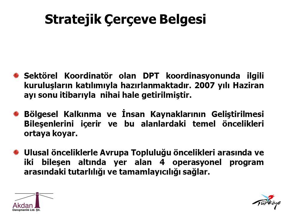 Stratejik Çerçeve Belgesi
