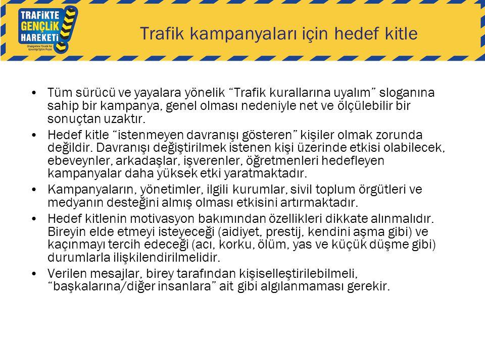 Trafik kampanyaları için hedef kitle