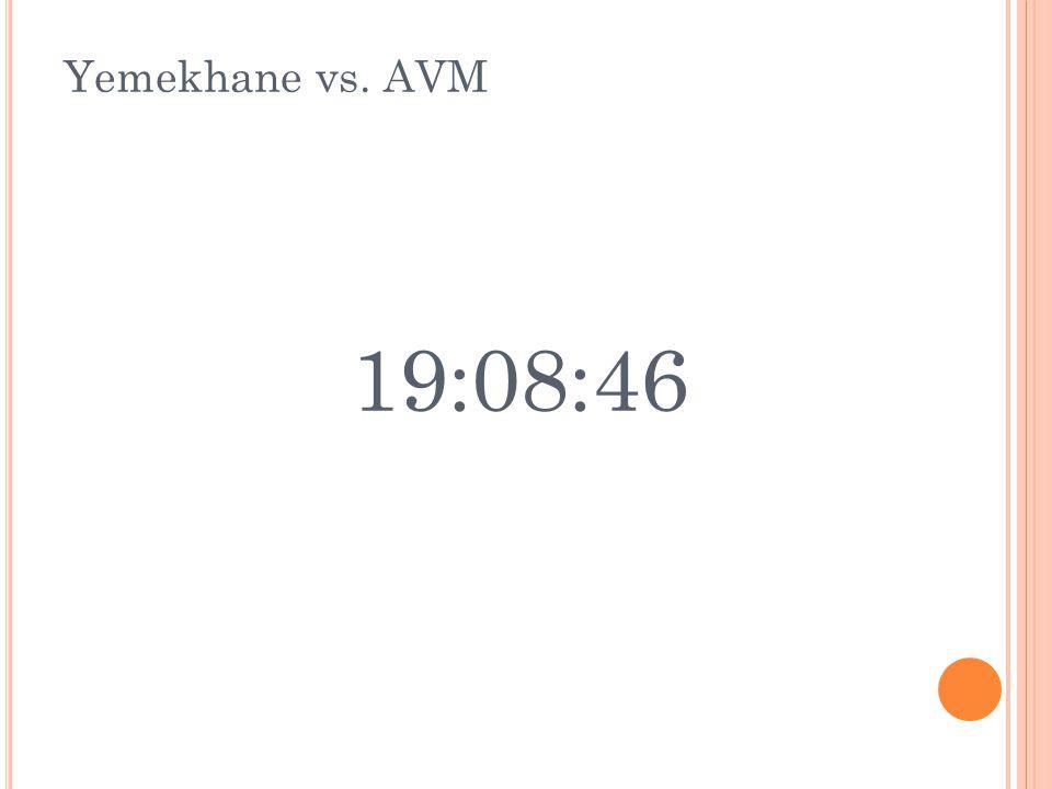 Yemekhane vs. AVM 19:08:46