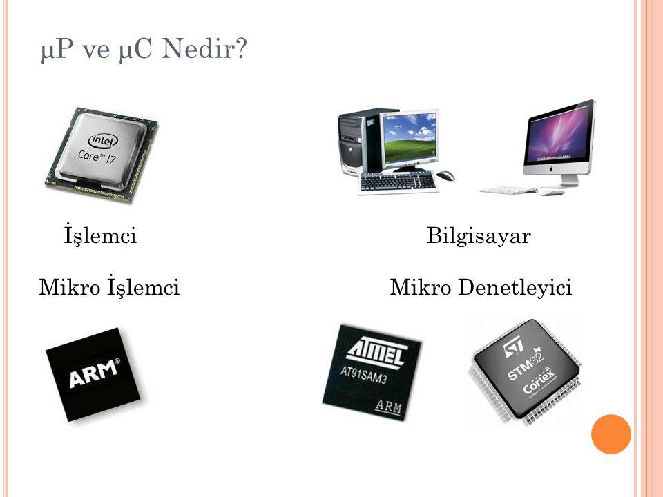 mP ve mC Nedir İşlemci Bilgisayar Mikro İşlemci Mikro Denetleyici
