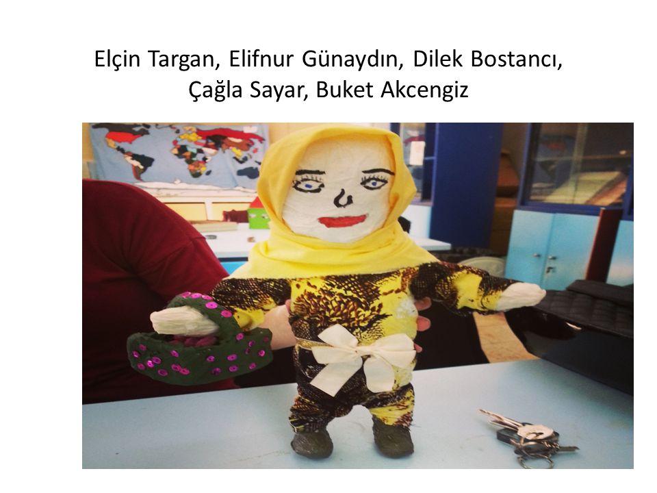 Elçin Targan, Elifnur Günaydın, Dilek Bostancı, Çağla Sayar, Buket Akcengiz