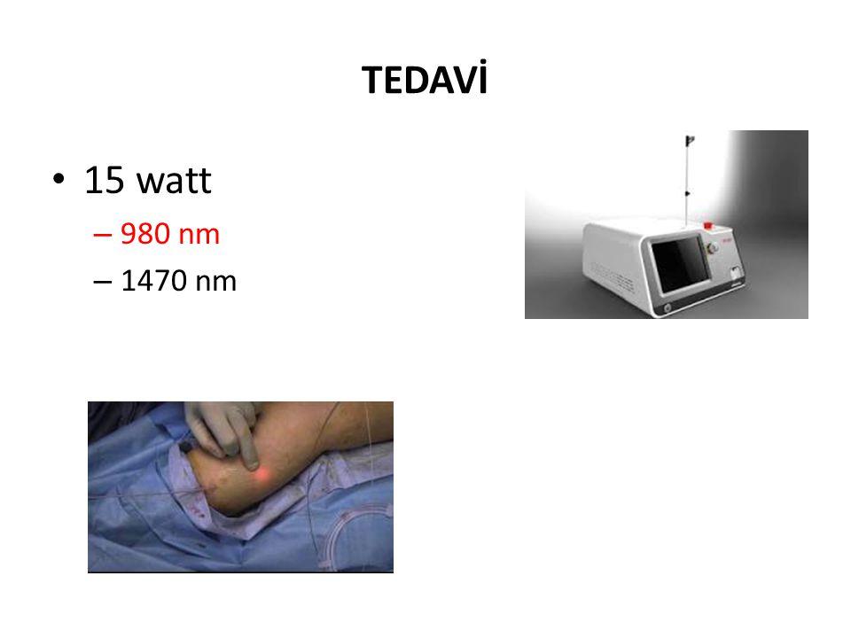 TEDAVİ 15 watt 980 nm 1470 nm