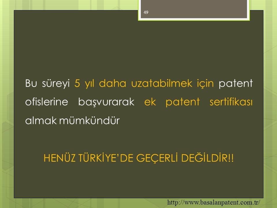 HENÜZ TÜRKİYE'DE GEÇERLİ DEĞİLDİR!!