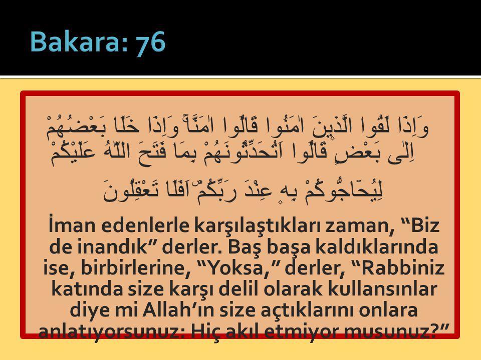 Bakara: 76