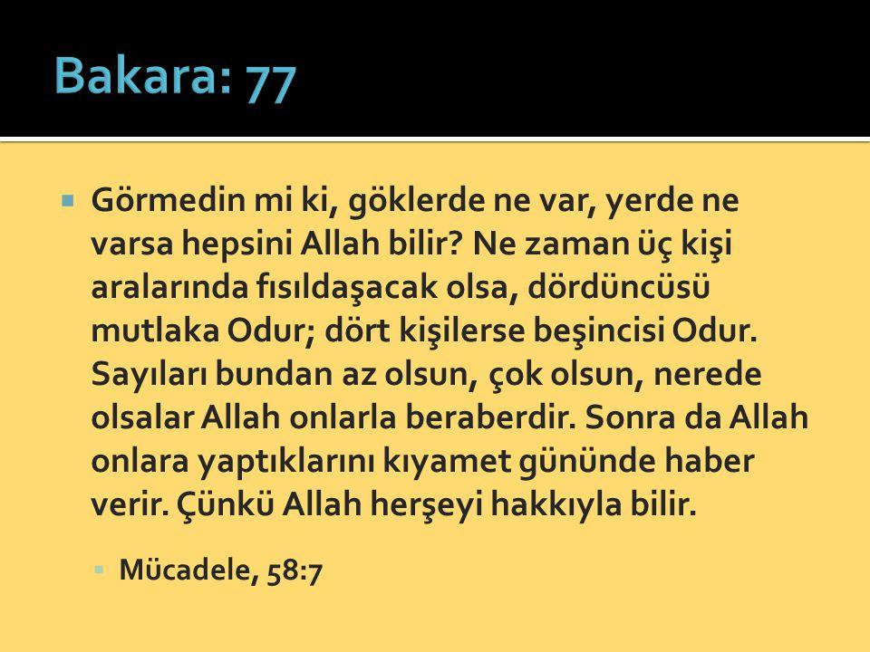 Bakara: 77