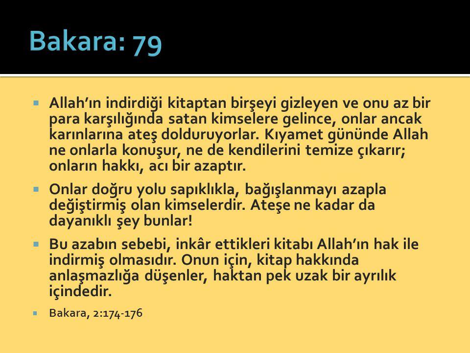 Bakara: 79