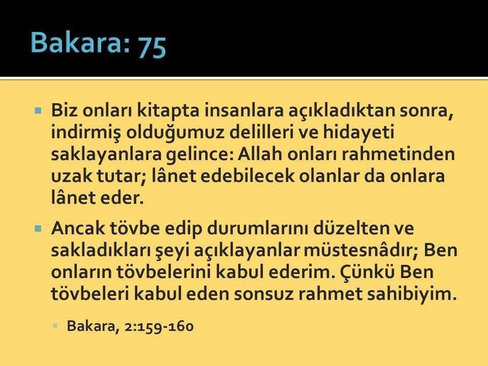 Bakara: 75