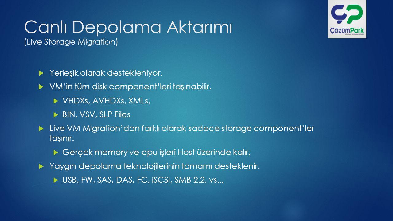 Canlı Depolama Aktarımı (Live Storage Migration)