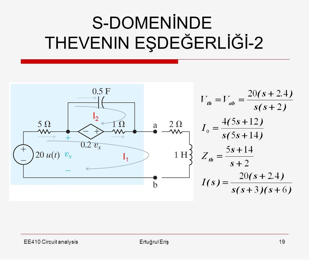 THEVENIN EŞDEĞERLİĞİ-2