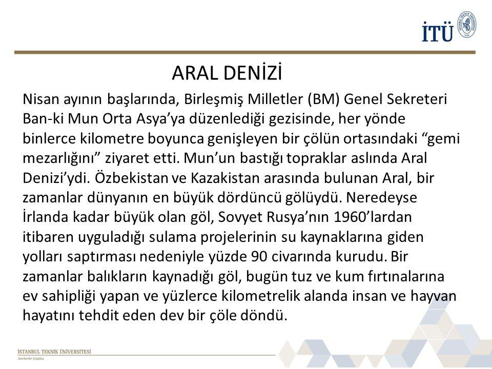 ARAL DENİZİ