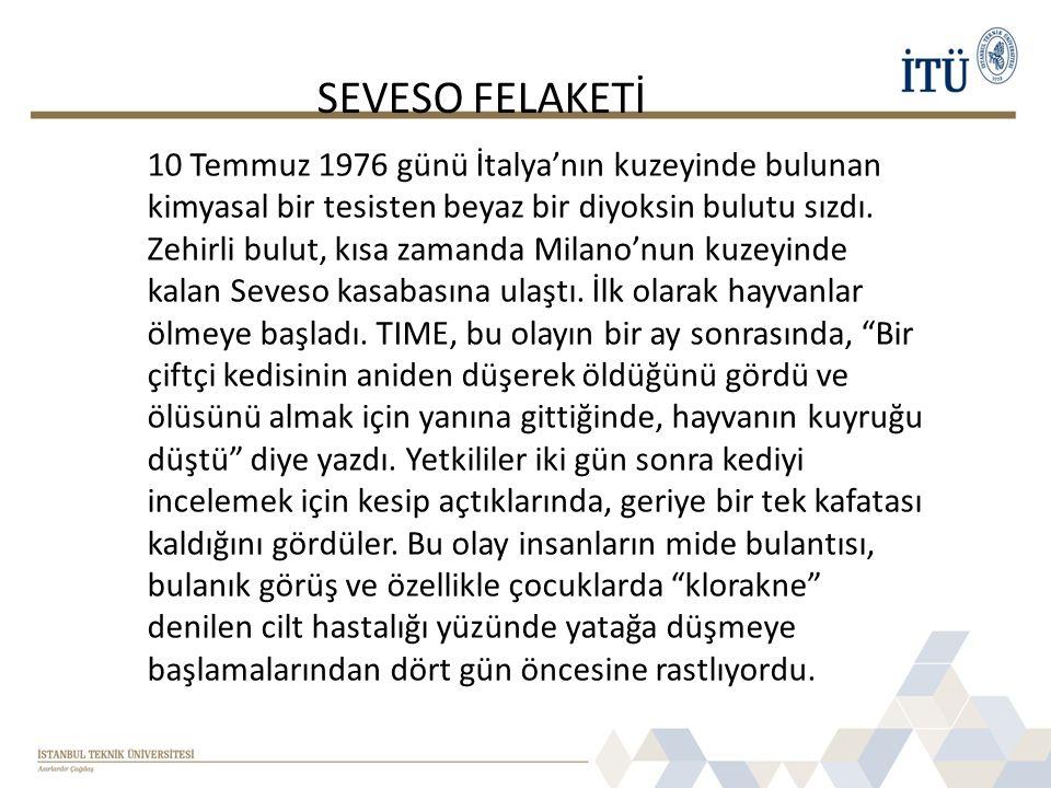 SEVESO FELAKETİ
