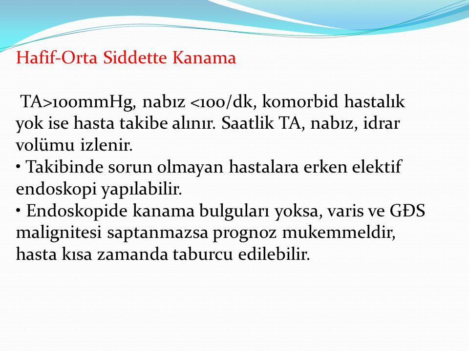 Hafif-Orta Siddette Kanama