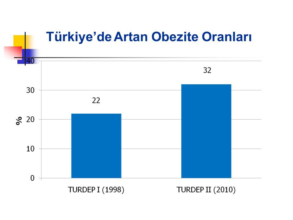 Türkiye'de Artan Obezite Oranları