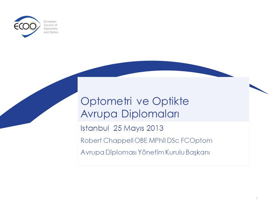 Optometri ve Optikte Avrupa Diplomaları