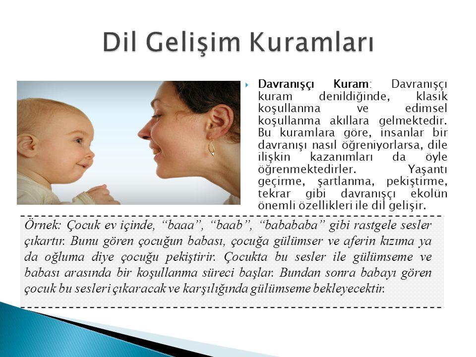 Dil Gelişim Kuramları