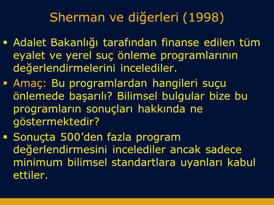 Sherman ve diğerleri (1998)