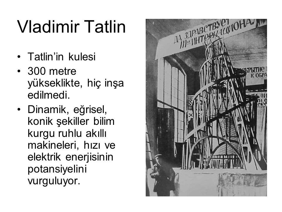 Vladimir Tatlin Tatlin'in kulesi