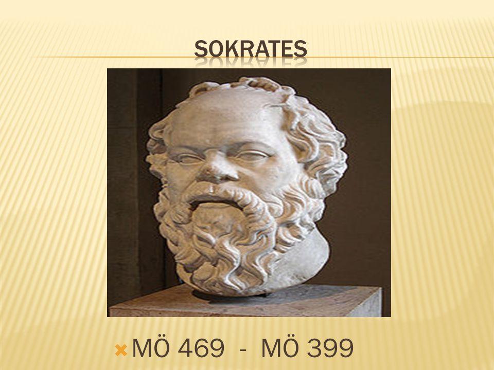 SOKRATES MÖ 469 - MÖ 399