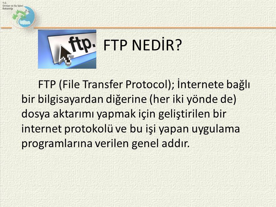 FTP NEDİR