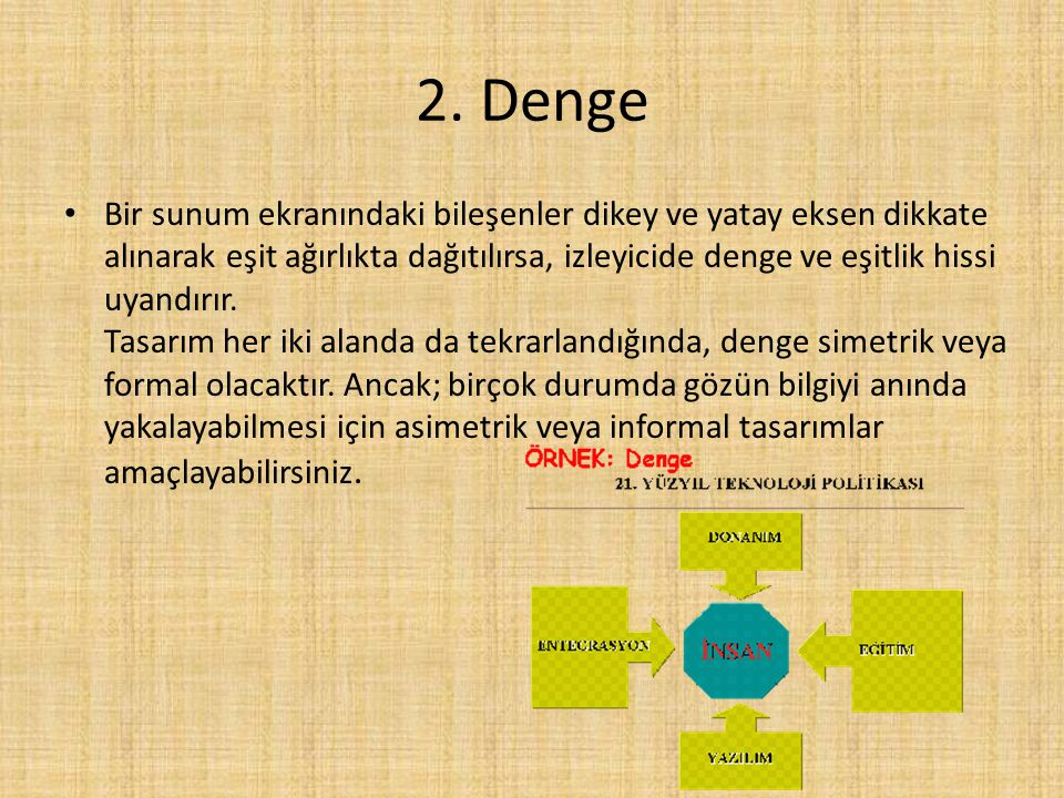 2. Denge