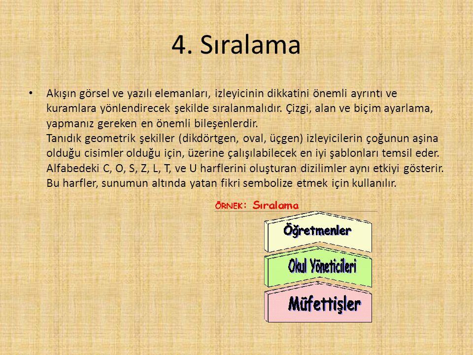 4. Sıralama