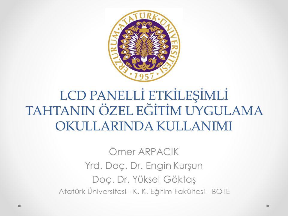 Atatürk Üniversitesi - K. K. Eğitim Fakültesi - BOTE