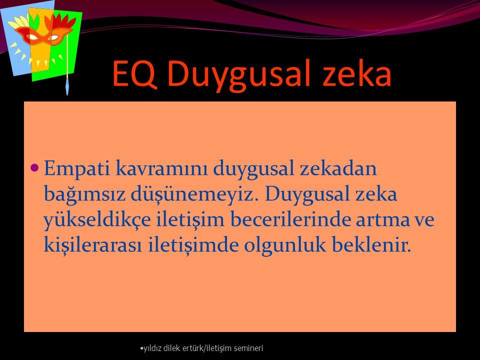 EQ Duygusal zeka