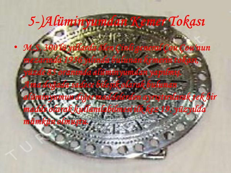 5-)Alüminyumdan Kemer Tokası