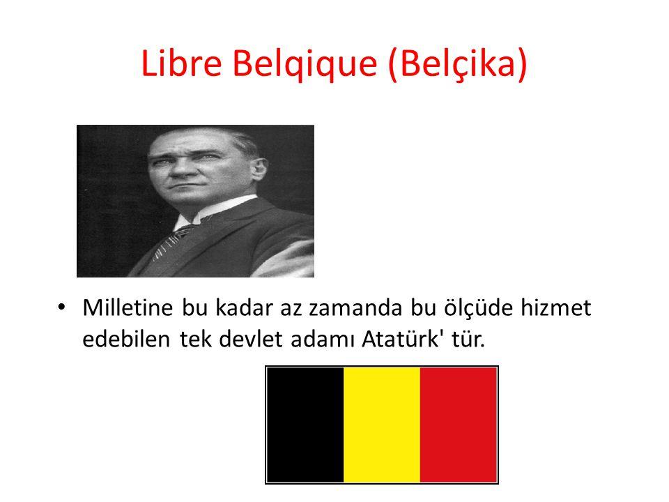 Libre Belqique (Belçika)
