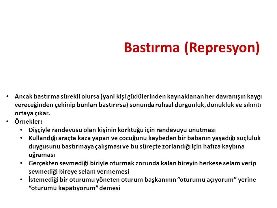 Bastırma (Represyon)