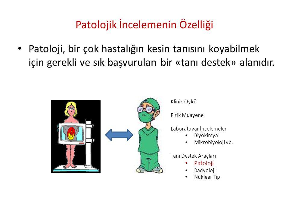 Patolojik İncelemenin Özelliği