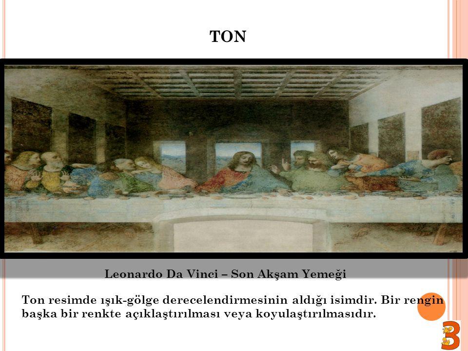 TON Leonardo Da Vinci – Son Akşam Yemeği