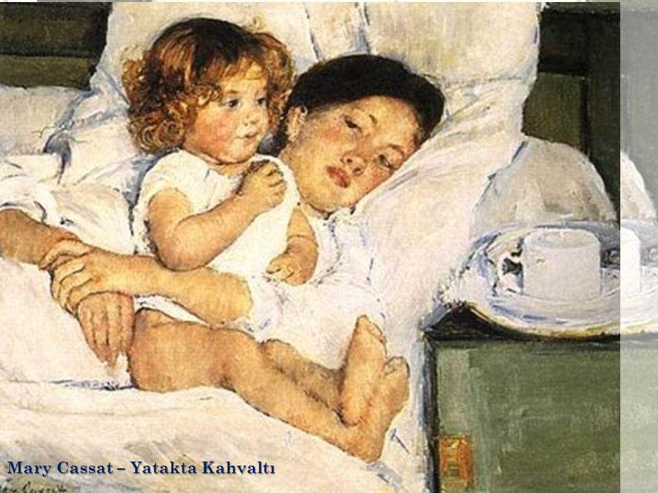 Mary Cassat – Yatakta Kahvaltı