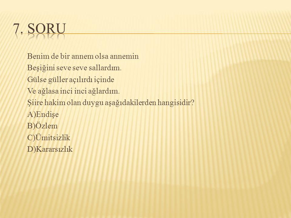 7. SORU