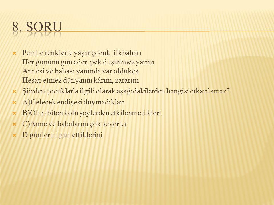 8. SORU