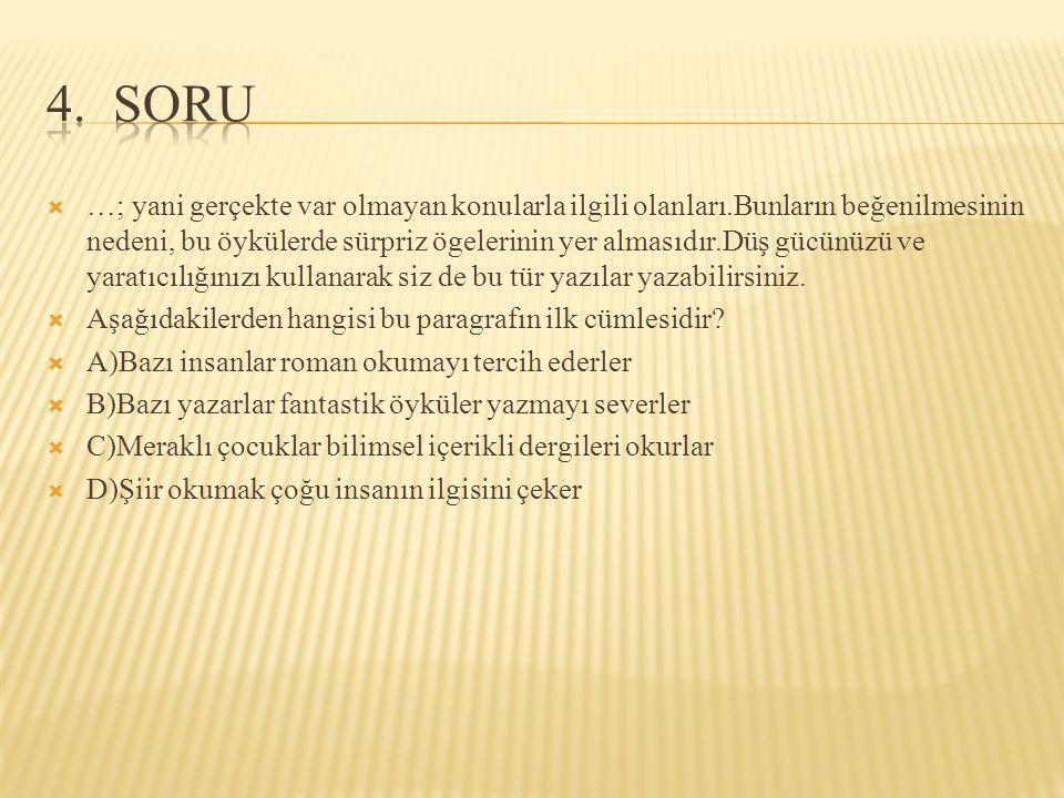 4. SORU