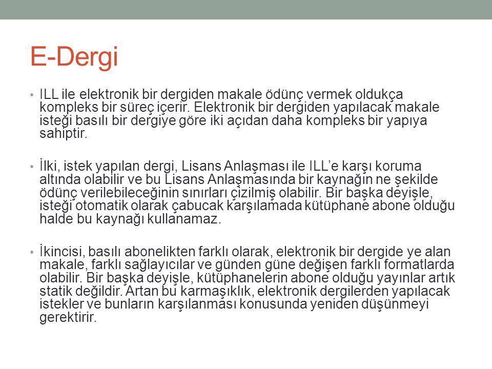 E-Dergi