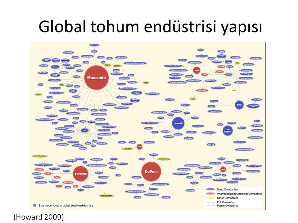 Global tohum endüstrisi yapısı