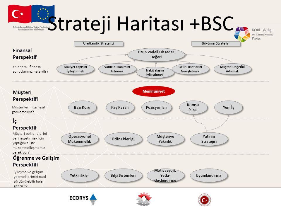 Strateji Haritası +BSC