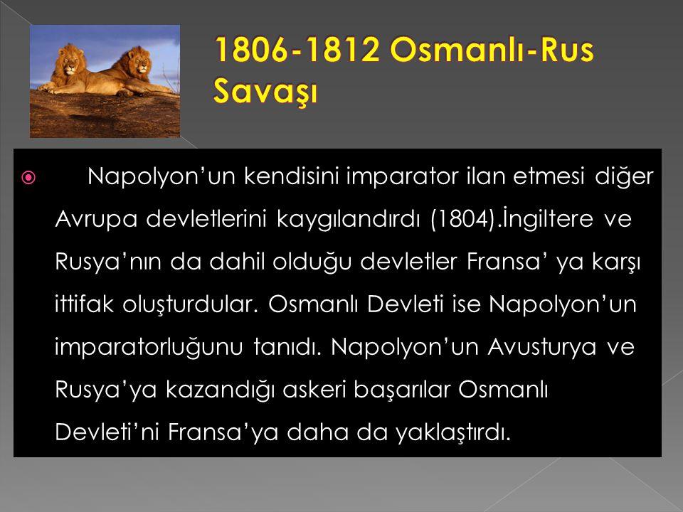 1806-1812 Osmanlı-Rus Savaşı