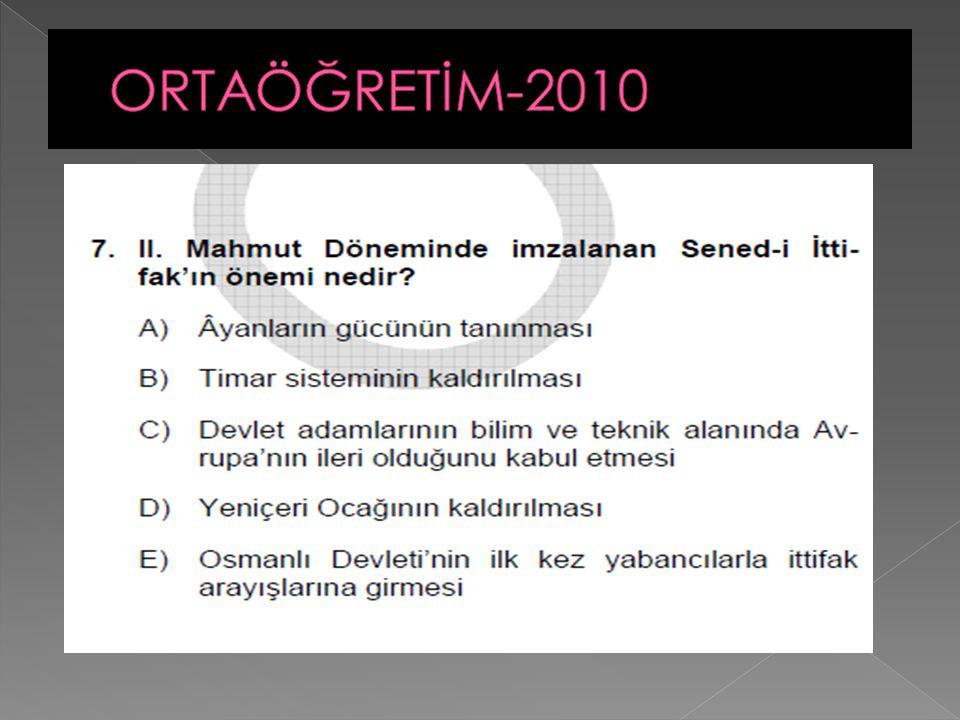 ORTAÖĞRETİM-2010